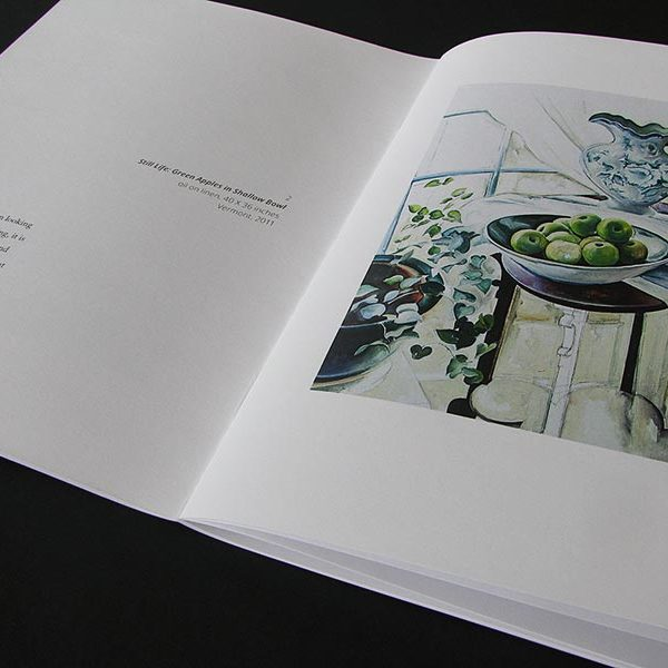 Art exhibition catalog for Margaret Sparrow