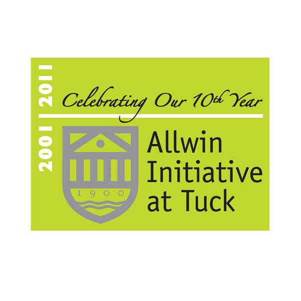 '2011 Anniv' add-on: Allwin Initiative, Tuck School of Business at Dartmouth College